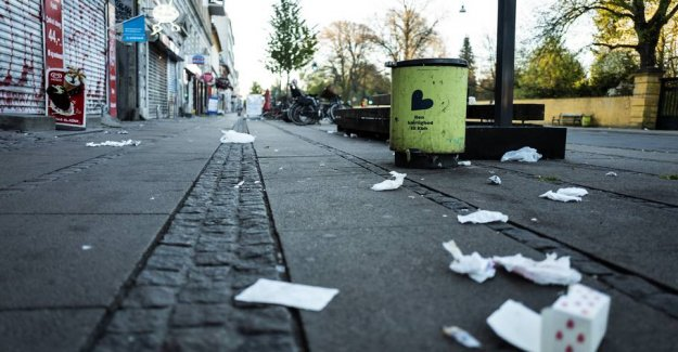The city of copenhagen will fire road sweepers