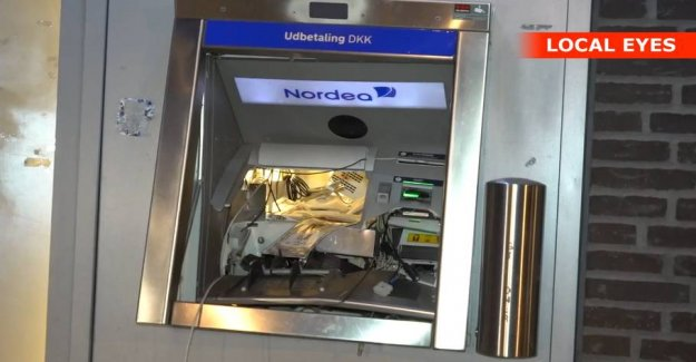 The explosion in the atm pulls the threads to abroad