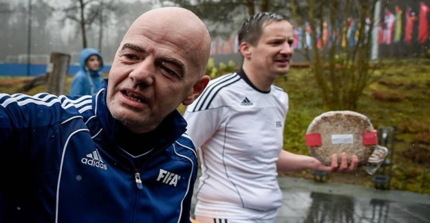 The meetings that can crack Infantino