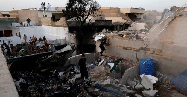 The pilot coronadebat were to blame for fatal plane crash in Pakistan
