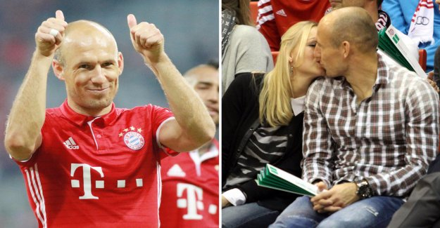The secret of the game behind robben's comeback