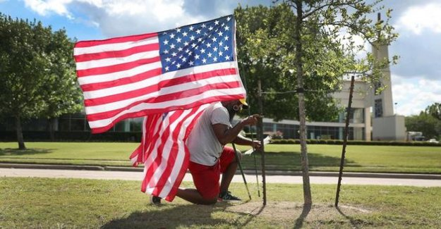 United states : Houston makes a last tribute to George Floyd