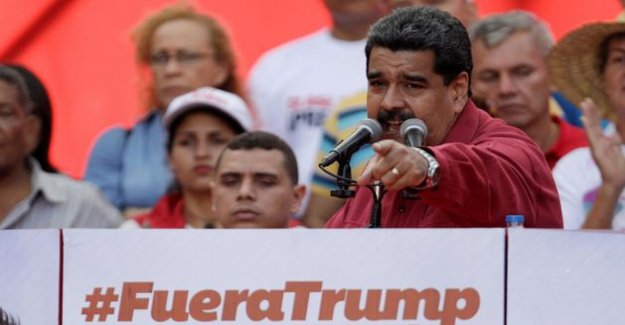 Venezuela: Trump does not exclude the possibility to meet with Maduro