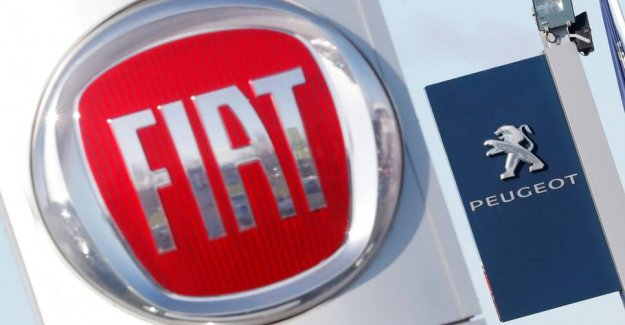 Vestager cast doubt on the big merger between Fiat and Peugeot