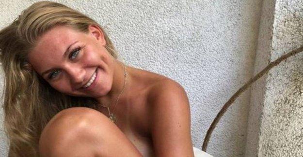 Vintage 0-Mathilde scores the Danish tv-celebrity