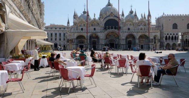 Will have more Italian in Venice