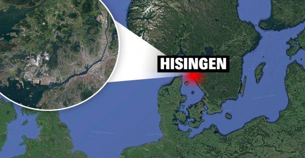 A suspected assassination attempt on the island of Hisingen, göteborg, in Göteborg, sweden