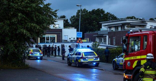 After a violent storbråket – all released on liberty