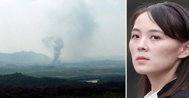 After the bursting of the office: Now that is checked and Kim Yo-Jong