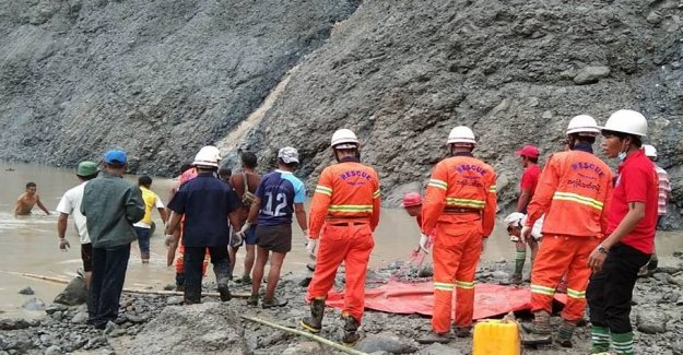 At least 113 of the miners killed in landslide
