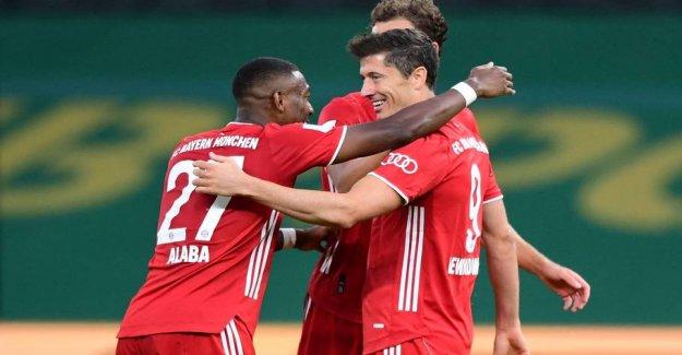 Bayern Munich floss 20. pokaltriumf in the one-sided finale