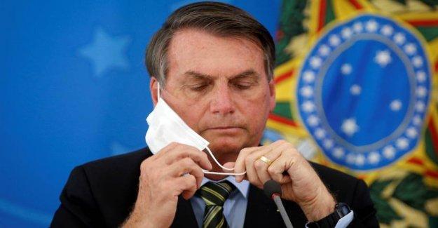 Brazil passes the 70,000 deaths from the coronavirus