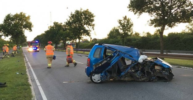 Car smashed without a driver: - A mystery to us