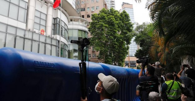 China opens new security office in the converted hotel in Hong kong