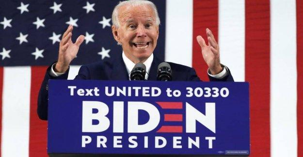 Corona get Biden to drop vælgermøder
