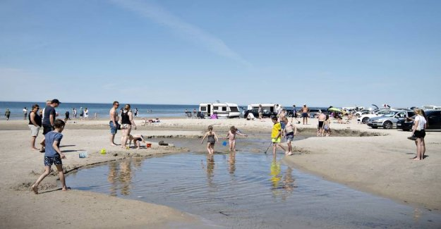 DMI: the Possibility of beach weather