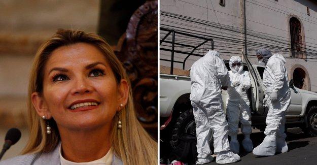 Despite interrimspresident infected with the coronavirus