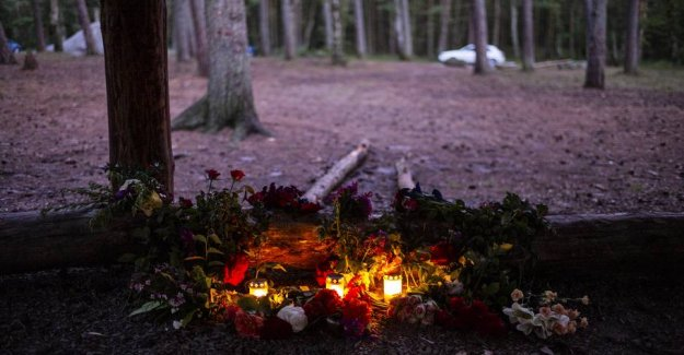 Drabssag on the island of Bornholm: Aims and his mother gets hundreds of threats