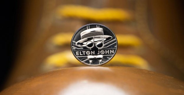Elton John will be honoured with special coin