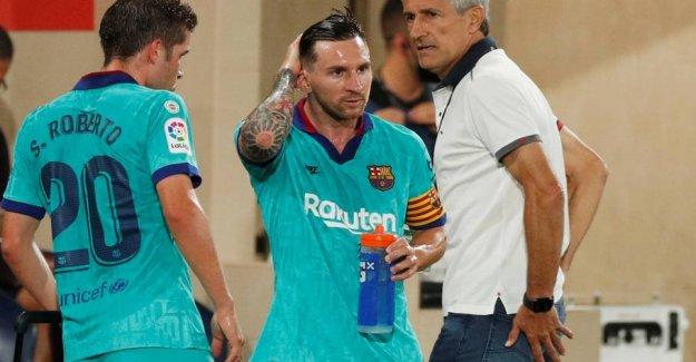 Exit rumours: It has Messi said