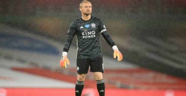 Flowing over with praise after pragtkamp of Schmeichel