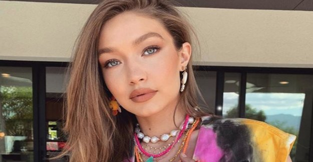 Gigi Hadid hides-pregnant - belly – and reveals the
