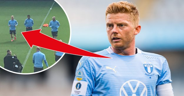 Glädjebesked for the malmö ff – AC-back in training
