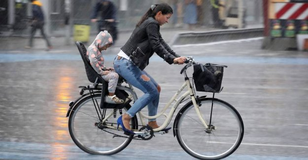 Harsh weather: DMI portends a risk of gusts of gale force