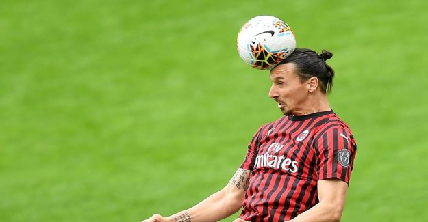 Ibrahimovic makes comeback for Milan after coronapausen