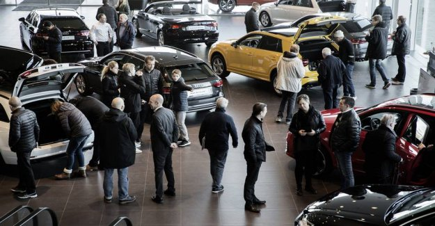 Increase of over 700 percent: We buy record number of these cars