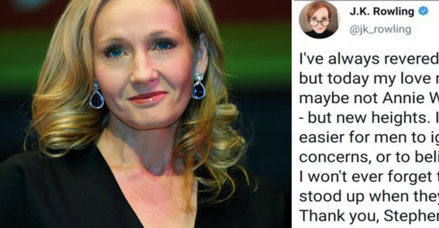 J. K Rowling, and deletes the entry after a sharp debate, the