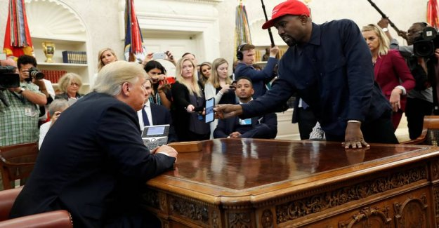 Kanye West no longer support the Trump