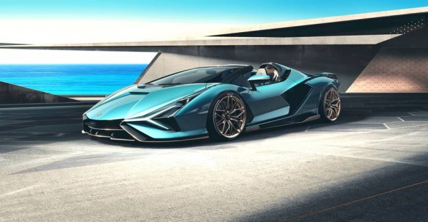 Lamborghini presents the new crazy roadster: however, There is one big problem