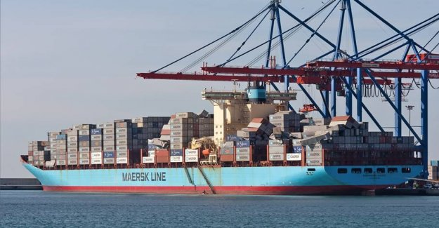 Large narkofund on Maersk ship