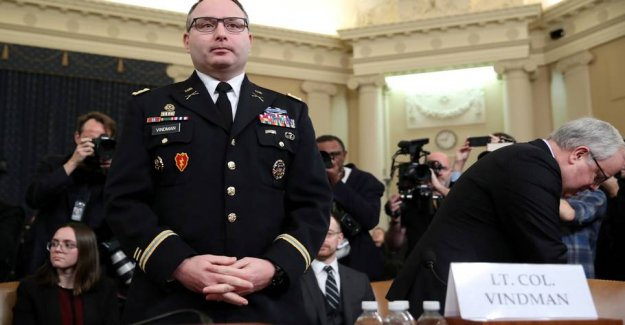 Lieutenant-colonel accuses Trump of bullying