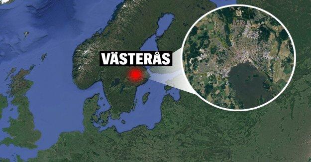 Man stabbed at McDonald's in Västerås.