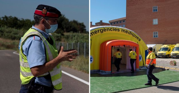 More than 200,000 are put in quarantine in Spain
