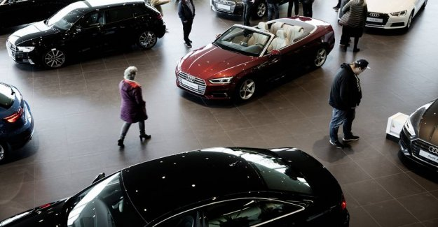 Now buying the danes more new cars again