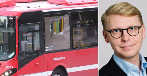 Now, you can get shot on a bus in Sweden