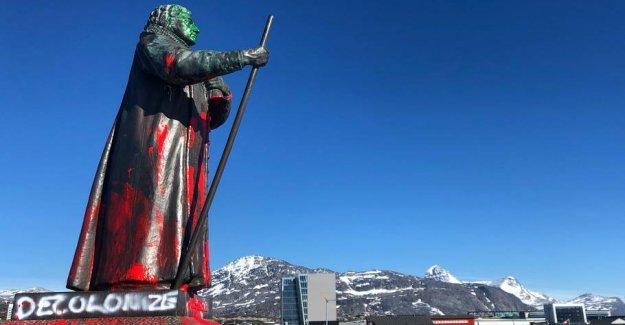 Nuuk's citizens must decide the Hans Egede-statues future