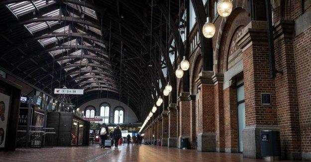 Part of the Copenhagen central Station blocked after voldtægtsanmeldelse