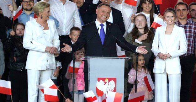 Poland's conservative president won five more years in office