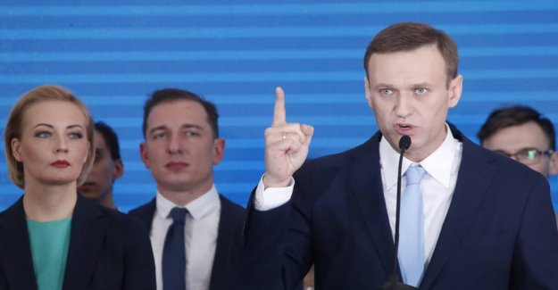 Putin-critic rejects election result as a whopping lie