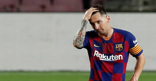 Shock in Barcelona: Messi ready to take