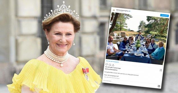 The Norwegian royal family, the lovely greeting