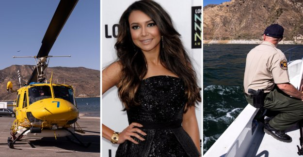 The body was found in a search for Naya Rivera