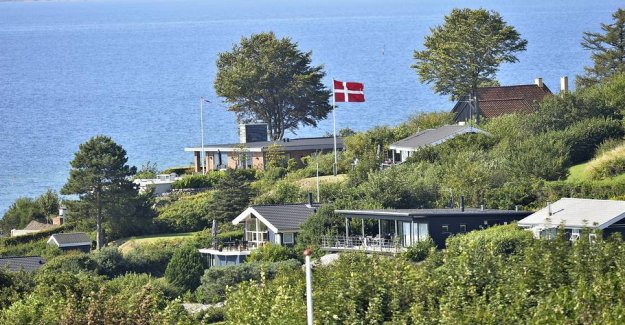 The danes have lænset the market: Twice as many of the accommodation booked