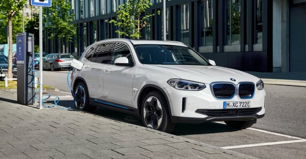 The first electric BMW in six years