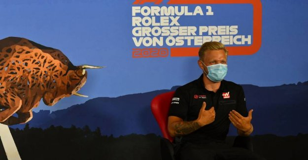 The formula 1 field divided: Kevin falls to his knees