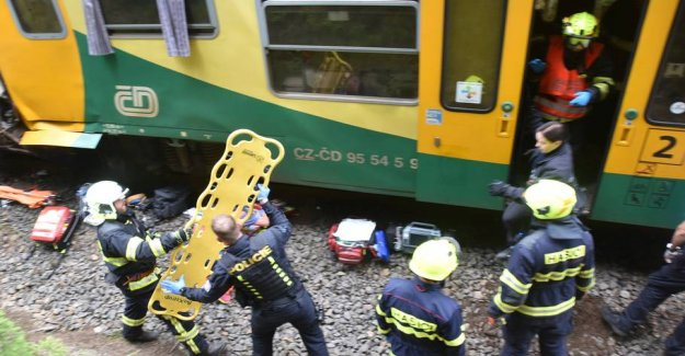 Two trains run together: at Least two dead
